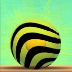 Juega con una pelota saltarina en Tigerball