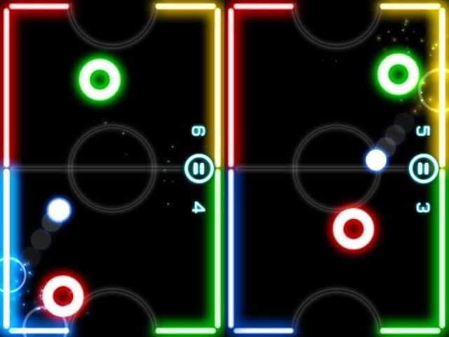 descargar glow hockey