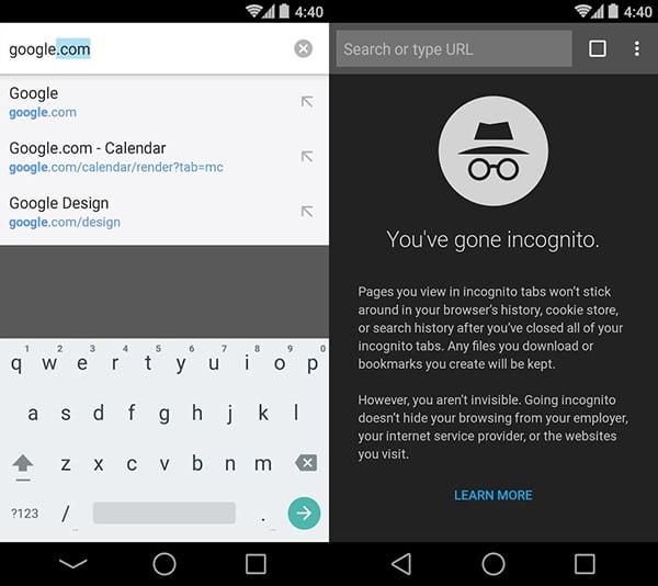 descargar navegador google chrome para Android