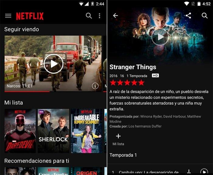 Descargar Netflix para Android