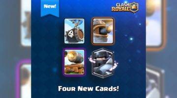 Clash Royale cuatro cartas nuevas