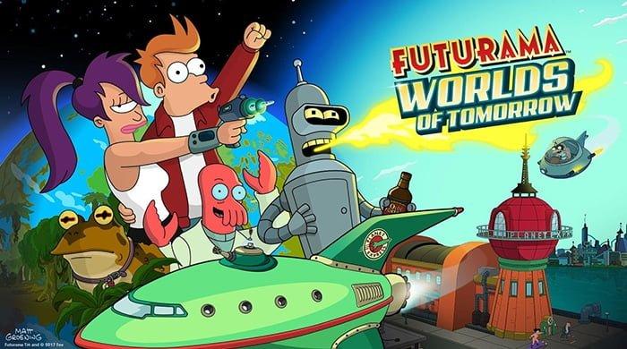 Disponible la descarga de Futurama: Mundos del Mañana desde Play Store