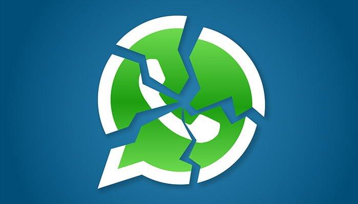 whatsapp error crash