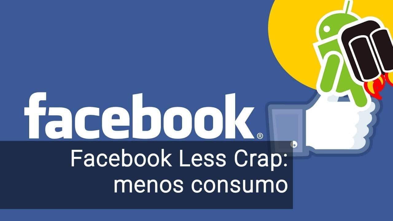 facebook less crap