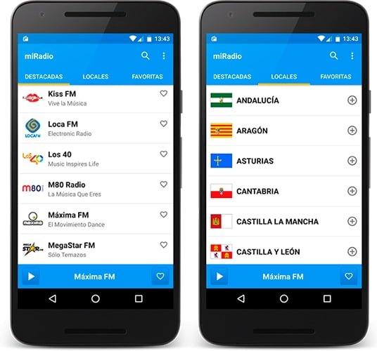 mIRadio Android