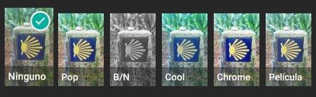 Los nuevos filtros para fotos en WhatsApp