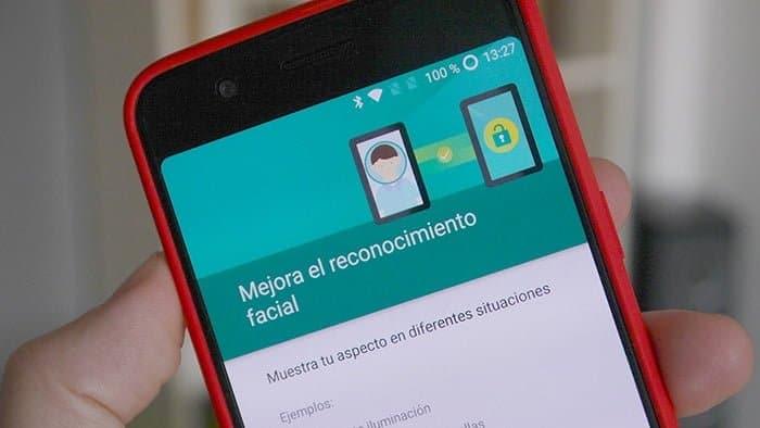 Desbloqueo facial Android