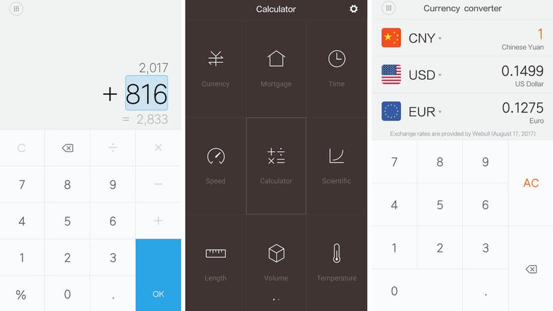 Características de Mi Calculator para Android