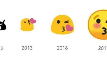 android emoji evolucion