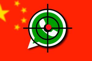 china bloqueo whatsapp