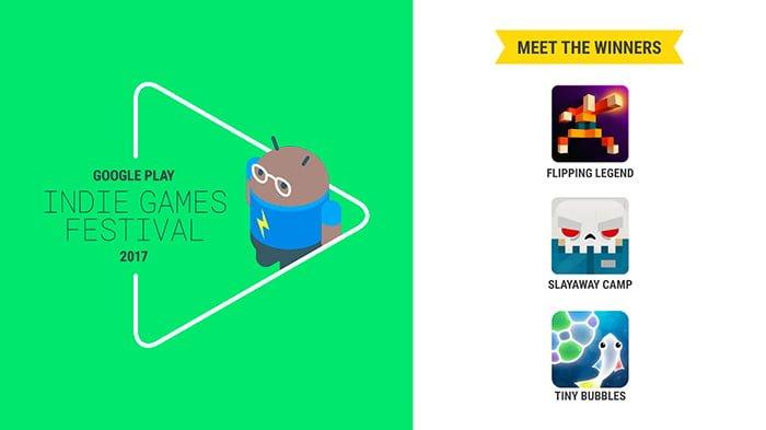 tres mejores juegos indie 2017 android