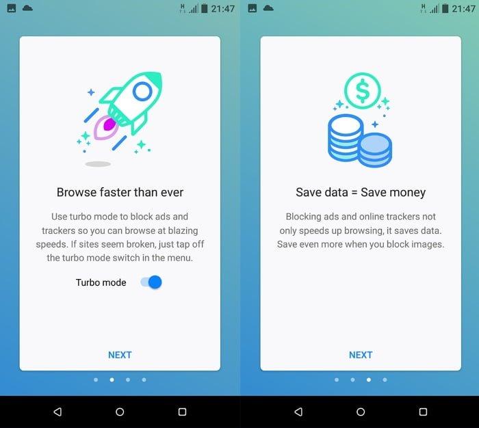 navegador firefox rocket android