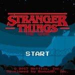 El juego de Stranger Things llega a los dispositivos Android