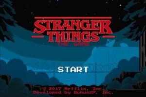 stranger things el juego para android