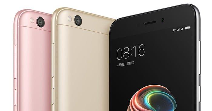 Características y precio del Xiaomi Redmi 5A
