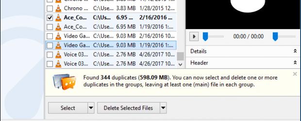 archivos duplicados windows