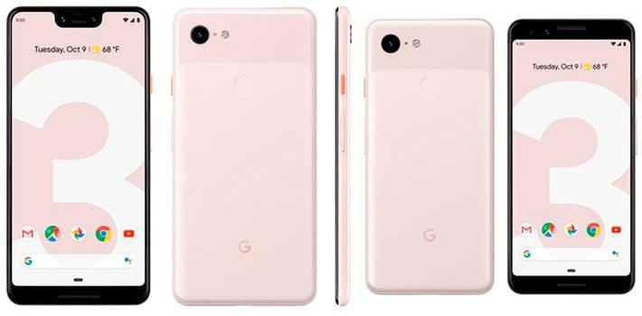 Diferencias entre el Google Pixel 3 y el Pixel 3XL